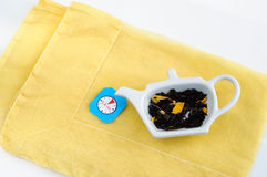Herbal Tea Steeping Time stock photography