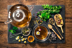 Herbal Tea With Honey Royalty Free Stock Photo