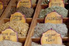Herbal teas Royalty Free Stock Photography