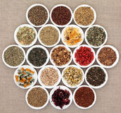 Herbal Teas Stock Image