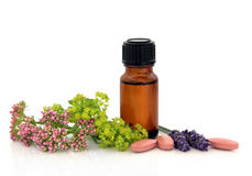 Herbal Therapy Royalty Free Stock Photos