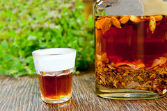 Herbal tincture Royalty Free Stock Images