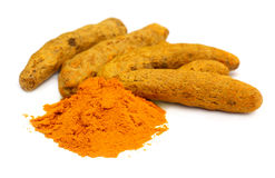 Herbal Turmeric royalty free stock photography