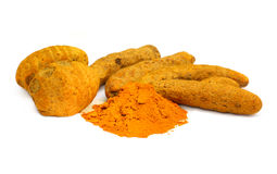 Herbal Turmeric Spices Royalty Free Stock Photo