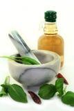 Herbal Vinegar Stock Image