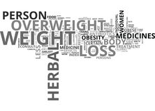 Are Herbal Weight Loss Pills The Cure Word Cloud Royalty Free Stock Photo