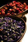 Herbalist balance. And flower dosage Stock Images