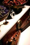 Herbalist balance Stock Image