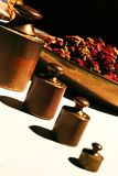 Herbalist balance Stock Photo