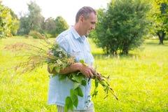 Herbalist Stock Image