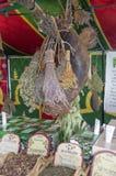 Herbalist market Stock Photo