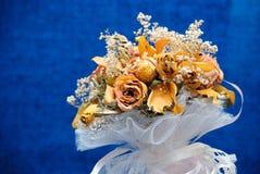 Herbarium von einem Hochzeitsblumenstrauß Lizenzfreie Stockbilder