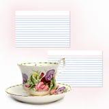 herbatę razem rozporządzenia Zdjęcie Royalty Free