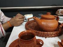 Herbata dla kochanka obrazy stock