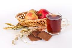 Herbata i ciastka Obrazy Stock