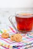 Herbata i ciastka Zdjęcia Royalty Free