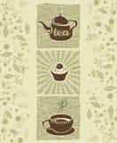 Herbata i ciastko Zdjęcie Royalty Free