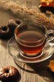 Herbata i piekarnia Zdjęcia Stock