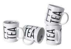 Herbata kubki Fotografia Stock