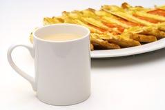 herbata mleka zdjęcia royalty free