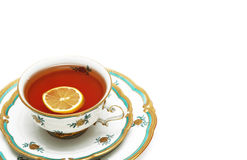 herbata odizolowana Obrazy Stock