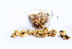 Herbata, Oolong kwiatu herbata Zdjęcia Stock