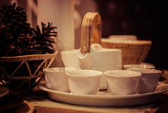 Herbata robi setowi Zdjęcia Royalty Free