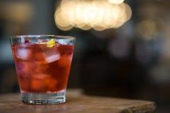 Herbata rosewater na drewnianym stole Fotografia Royalty Free