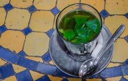 Herbata słuzyć pić i przygotowywająca, zwyczaje kurtuazja fotografia stock