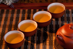 Herbata set Zdjęcie Stock