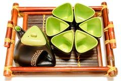 Herbata set Fotografia Stock