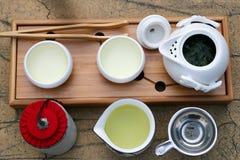 herbata tradycyjne usługi chińszczyznę Fotografia Stock
