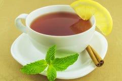 Herbata w białej filiżance Zdjęcie Stock