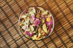 Herbata w herbacianej filiżance Obraz Stock