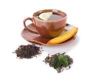 Herbata w kubku Obrazy Stock