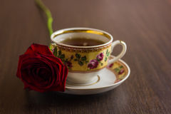 Herbata w Podławym szyka stylu Obraz Royalty Free