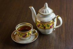 Herbata w Podławym szyka stylu Fotografia Stock
