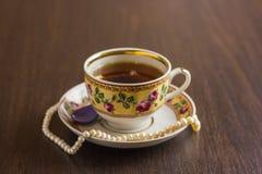 Herbata w Podławym szyka stylu Zdjęcia Stock