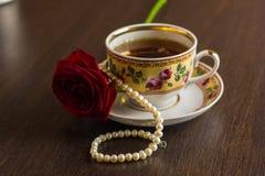 Herbata w Podławym szyka stylu Obraz Stock