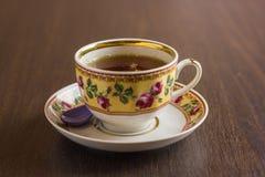 Herbata w Podławym szyka stylu Fotografia Royalty Free