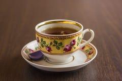 Herbata w Podławym szyka stylu Zdjęcia Royalty Free