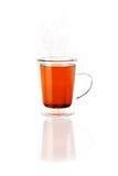 Herbata w Szklanym kubku lub filiżance Zdjęcia Stock