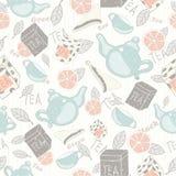 Herbata wzór Fotografia Stock