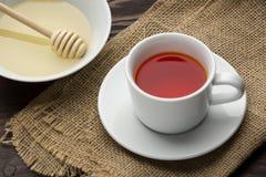 Herbata z miodem Obrazy Royalty Free