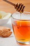 Herbata z miodem fotografia royalty free