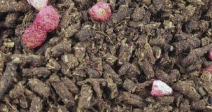 Herbata z truskawkami zbiory wideo
