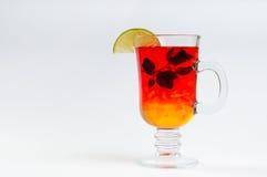 Herbata z ziele miodu cytryną Obraz Stock