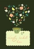 herbata ziołowa kubki Zdjęcie Royalty Free