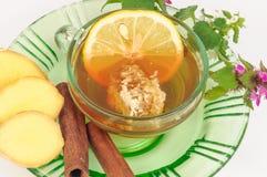 herbata ziołowa kubki Obrazy Royalty Free