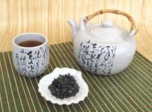 Herbaty wciąż życie w Japońskim stylu obrazy stock